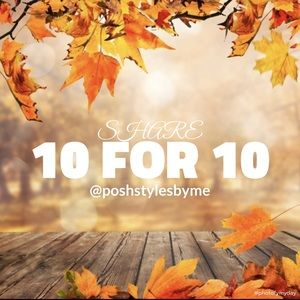 Other - 🍂 10 FOR 10 🍂